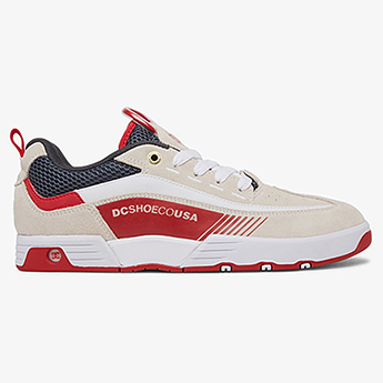 Кроссовки DC Shoes Legacy98 Slm White/Grey/Red