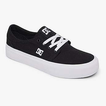 Кеды женские DC Shoes Trase Black/Black/White