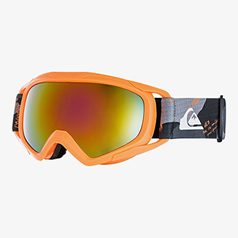 Маска для сноуборда детская QUIKSILVER Eagle Shocking Orange Wich