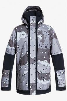 Куртка сноубордическая DC Shoes Command Jacket Chocolate Chip Greys