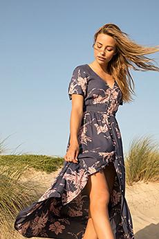 Платье женское Roxy Bright Daylight Mood Indigo Vertigo
