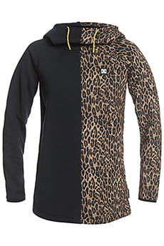 Джемпер женский DC Shoes Salem Fleece Leopard Fade