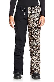 Штаны сноубордические женские DC Shoes Viva Pant Leopard Fade