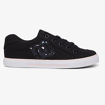 Кеды женские DC Shoes Chelsea Black/Splatter