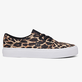 Кеды женские DC Shoes Trase Leopard Print