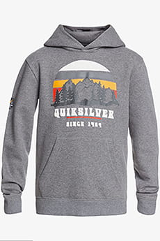 Толстовка детская QUIKSILVER Logo Youth Heather Grey