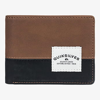 Кошелек QUIKSILVER Native Country Chocolate Brown