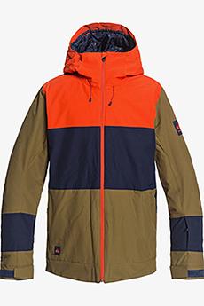 Куртка сноубордическая QUIKSILVER Sycamore Military Olive