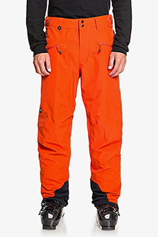 Штаны сноубордические QUIKSILVER Boundry Pureed Pumpkin