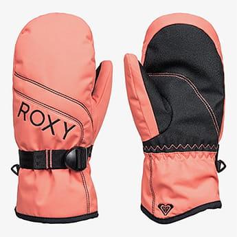 Варежки сноубордические детские Roxy Jetty Fusion Coral