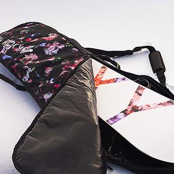 Чехол для сноуборда женский Roxy Board Sleeve True Black Blooming
