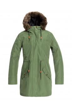 Куртка женская Roxy Amy 3n1 Bronze Green
