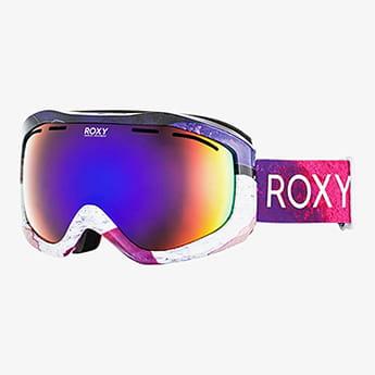 Маска для сноуборда женская Roxy Sunset Art Bright White Annecy