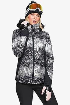 Куртка сноубордическая женский Roxy Jet Ski Premium Black Switcher