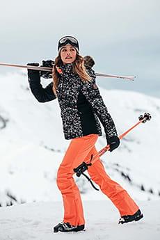 Комбинезон сноубордический женский Roxy Summit Bib Fusion Coral