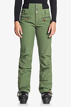Штаны сноубордические женские Roxy Rising High Bronze Green
