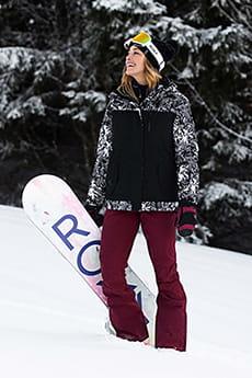Штаны сноубордические женские Roxy Creek Oxblood Red