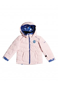 Куртка сноубордическая детский Roxy Anna Powder Pink