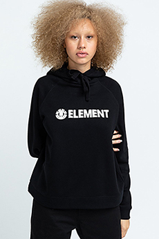 Толстовка Element Logic Hood Flint Black-91