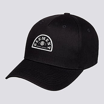 Бейсболка Element Wild Cap All Black