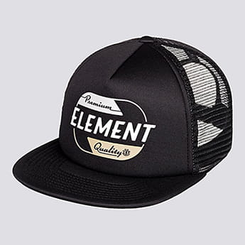 Бейсболка Element Depot Trucker Cap Flint