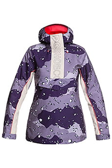 Куртка женская DC Shoes Envy Anorak Chocolate Chip Grape