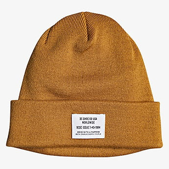 Шапка DC Shoes Workman Beanie Sudan Brown