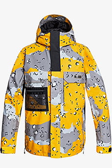 Куртка сноубордическая DC Shoes Defiant Jacket Chocolate Chip Lemon
