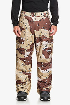 Штаны сноубордические DC Shoes Code Pant Chocolate Chip Camo