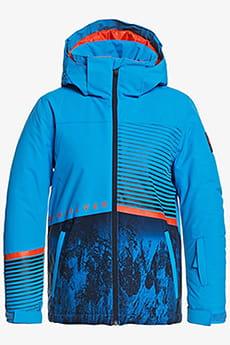 Куртка сноубордическая детский QUIKSILVER Silvertip Brilliant Blue Paraf