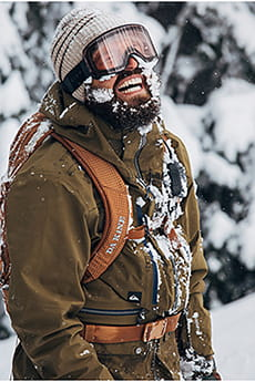 Маска для сноуборда QUIKSILVER Black Alder Military Olive