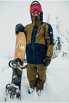 Куртка сноубордическая QUIKSILVER Forever Military Olive