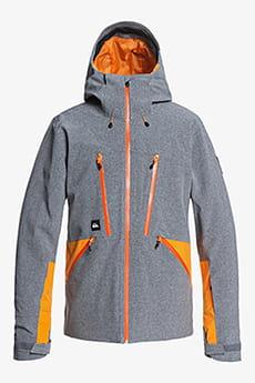 Куртка сноубордическая QUIKSILVER Stretch Fjor Heather Grey