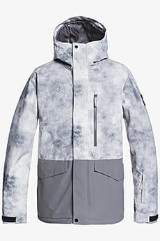 Куртка сноубордическая QUIKSILVER Mission Bloc Iron Gate X-posure