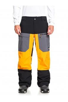 Штаны сноубордические QUIKSILVER Stretch Flame Orange
