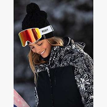 Маска для сноуборда женская Roxy Storm Women Bright White