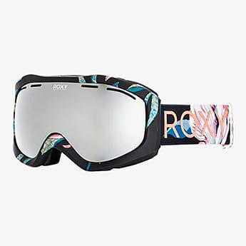 Маска для сноуборда женская Roxy Sunset Art True Black Tropical