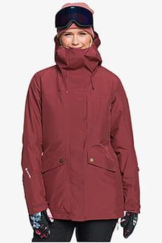 Куртка сноубордическая женский Roxy Glade Jk Oxblood Red