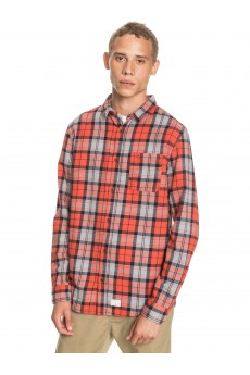 Рубашка QUIKSILVER Theplaidflannel Chilli Plaid Flannel
