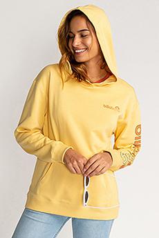 Толстовка женская Billabong Stocked Pale Yellow