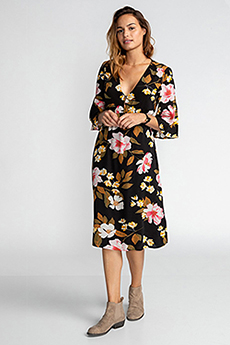 Платье Billabong Dream Big Black Flower
