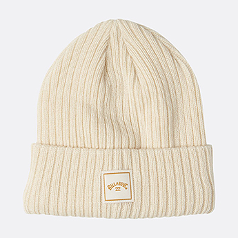 Шапка женская Billabong Ride Beanie White Cap