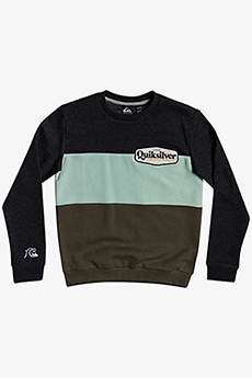 Джемпер детский QUIKSILVER Tropicoblocry14 Dark Grey Heather