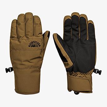 Перчатки сноубордические QUIKSILVER Cross Glove Military Olive