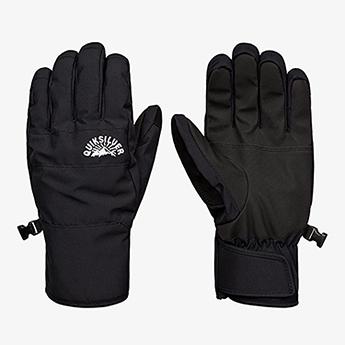 Перчатки сноубордические QUIKSILVER Cross Glove True Black