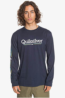 Лонгслив QUIKSILVER Tropicallinesls Tees Parisian Night