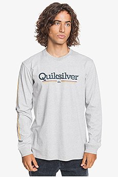 Лонгслив QUIKSILVER Tropicallinesls Tees Athletic Heather