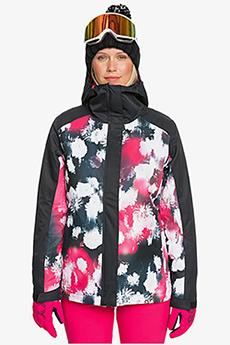 Куртка сноубордическая женский Roxy Galaxy Jk Black Inkstain