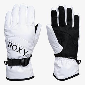 Перчатки сноубордические женские Roxy Jetty Solgloves Bright White