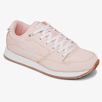 Кроссовки женские DC Shoes Alias Pink/White